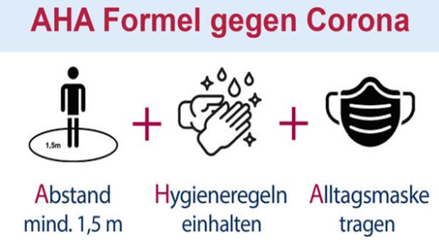 AHA Formel Corona